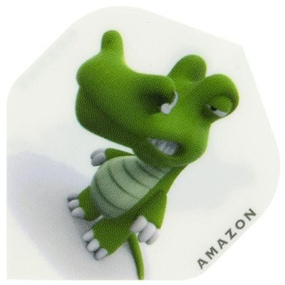 Piórka Amazon Cartoon Crocodile