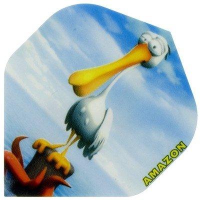 Piórka Amazon Cartoon Pelican
