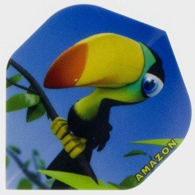 Piórka Amazon Cartoon Toucan
