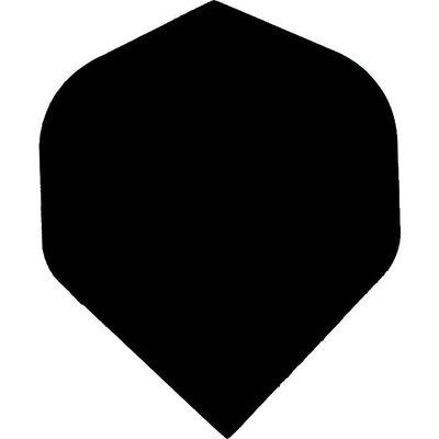 Piórka Bull's One50 - Black Plain