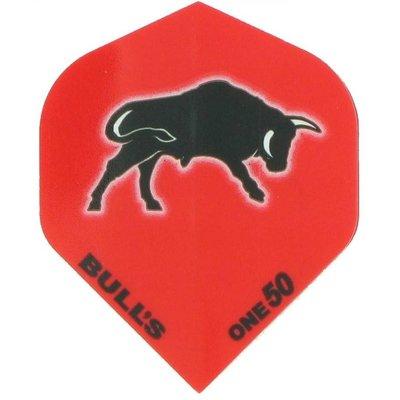 Piórka Bull's One50 - Czerwony