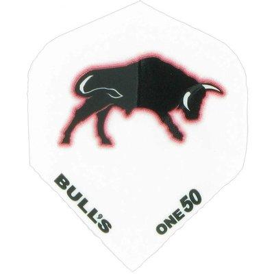 Piórka Bull's One50 - Wit