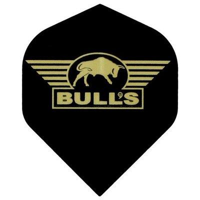 Piórka Bull's powerflite - Logo Gold