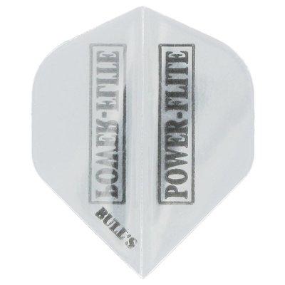 Piórka Bull's Powerflite Transparent