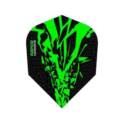 Piórka Harrows Rapide-X Green