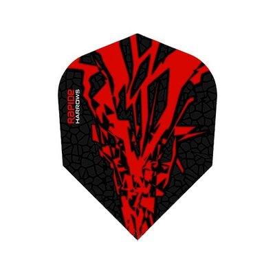 Piórka Harrows Rapide-X Red