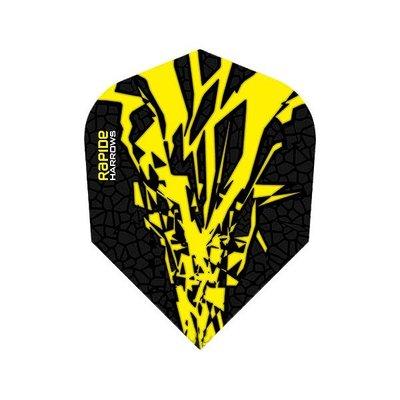 Piórka Harrows Rapide-X Yellow