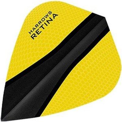 Piórka Harrows Retina-X Yellow Kite