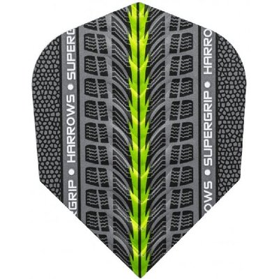 Piórka Harrows Supergrip Green