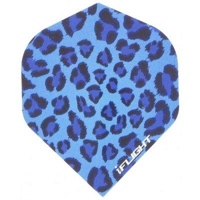 Piórka iPiórek - Leopard Print Blue