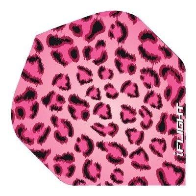 Piórka iPiórek - Leopard Print Pink