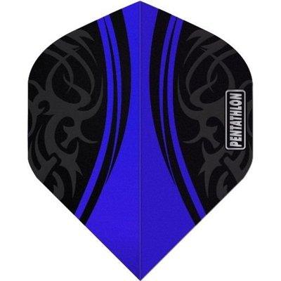 Piórka Pentathlon Tribal Clear Blue