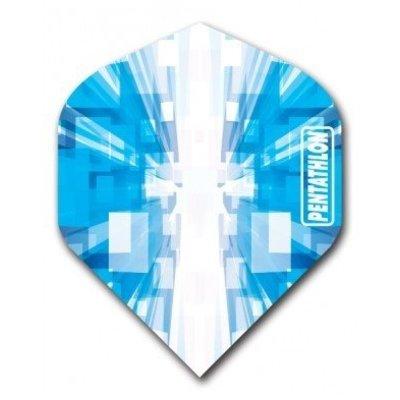 Piórka Pentathlon Vizion Star Burst Blue