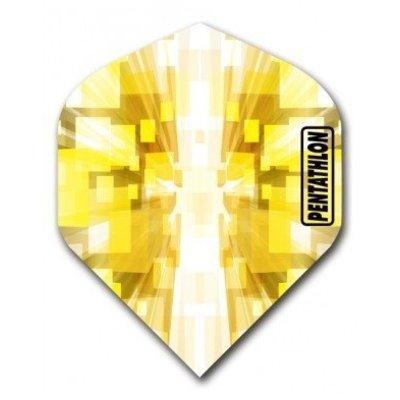 Piórka Pentathlon Vizion Star Burst Yellow