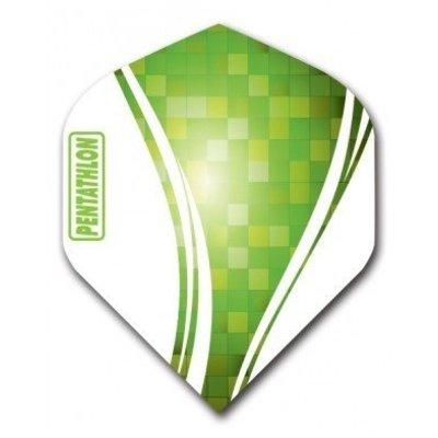 Piórka Pentathlon Vizion Swirl Green