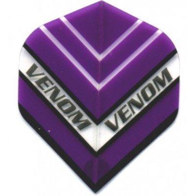 Piórka Ruthless Venom Przezroczysty Purple