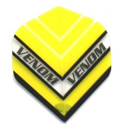 Piórka Ruthless Venom Przezroczysty Yellow