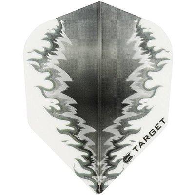 Piórka Target Power Vision 100 Fire White-Black