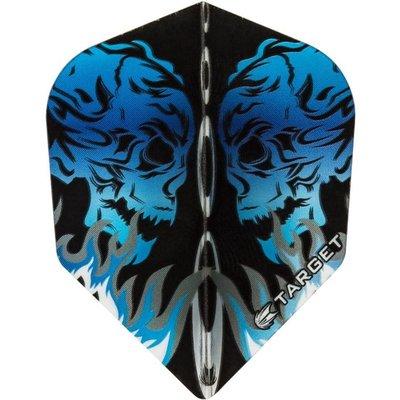 Piórka Target Vision 100 Skull Blue