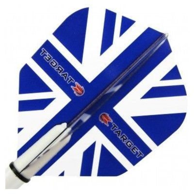Piórka Target Vision Blue Union Jack