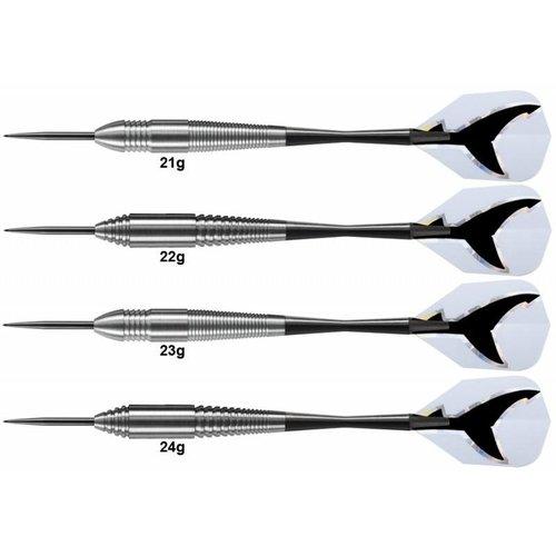 Harrows Lotki Harrows Silver Shark Tungsten Look