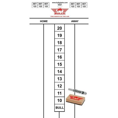 Bull's Scorebord Set 60 x 30