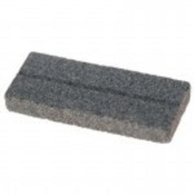 Płaski kamień szlifierski z rowkiem