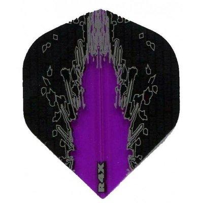 Piórka Ruthless R4X High Impact Black Purple