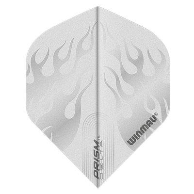 Piórka Winmau Prism Delta Flame White