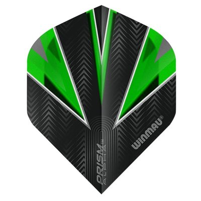 Piórka Winmau Prism Alpha Green