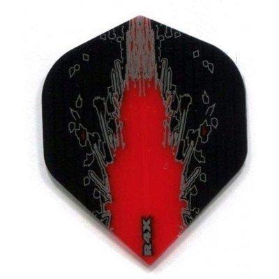 Piórka Ruthless R4X High Impact Black Red
