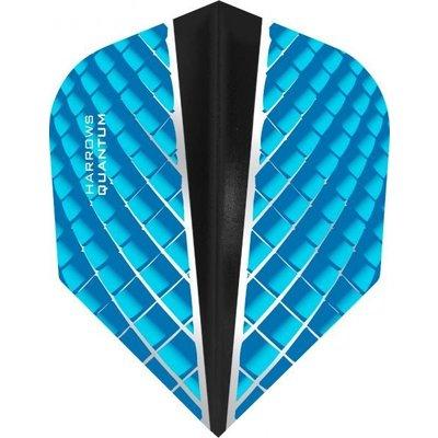Piórka Harrows Quantum X Aqua Blue