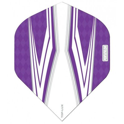 Piórka Pentathlon TDP LUX Vision White/Purple