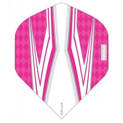 Piórka Pentathlon TDP LUX Vision White/Pink