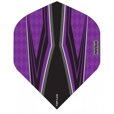 Piórka Pentathlon TDP LUX Vision Black/Purple