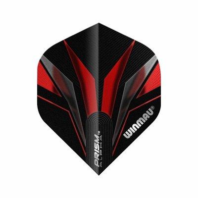 Piórka Winmau Prism Alpha Black & Red
