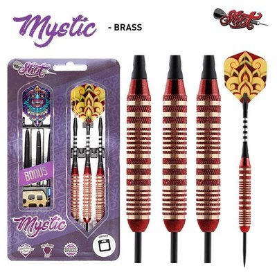 Lotki Shot Mystic Brass Red
