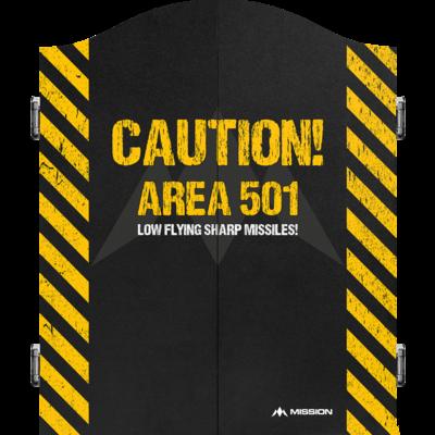 Mission Deluxe Gabinet - Caution
