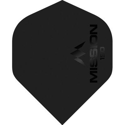 Piórka Mission Logo Std No2 Black - 150 Micron