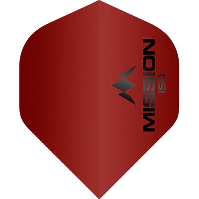 Piórka Mission Logo Std No2 - Red - 150 Micron