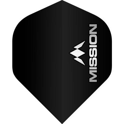Piórka Mission Logo Std No2 Black & Grey