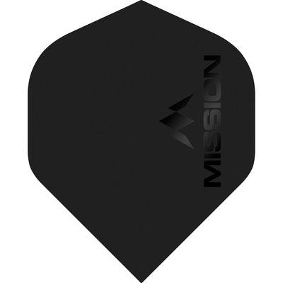 Piórka Mission Logo Std No2 Matte Black