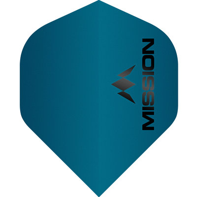 Piórka Mission Logo Std No2 Matte Blue