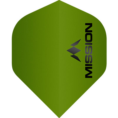 Piórka Mission Logo Std No2 Matte Green