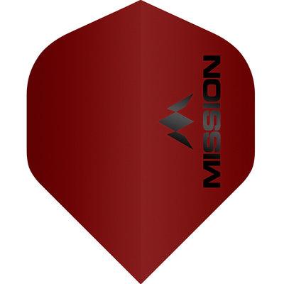Piórka Mission Logo Std No2 Matte Red