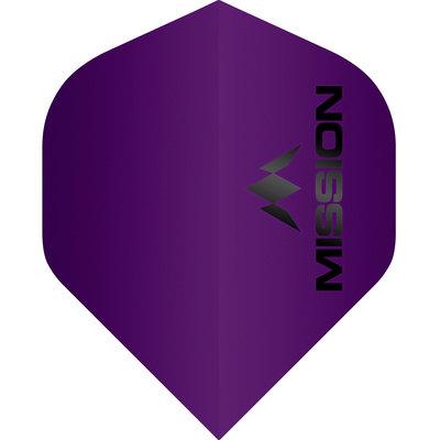 Piórka Mission Logo Std No2 Matte Purple