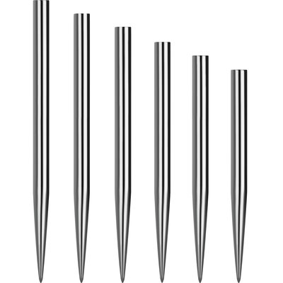 Mission Glide Dart Points - Silver