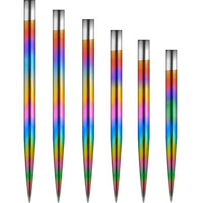 Mission Glide Dart Points - Rainbow