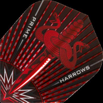 Piórka Harrows Prime Assassin Red