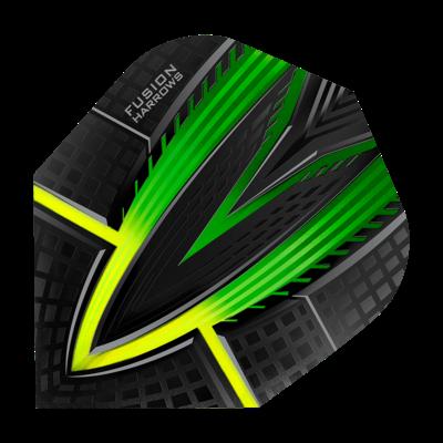 Piórka Harrows Fusion Green